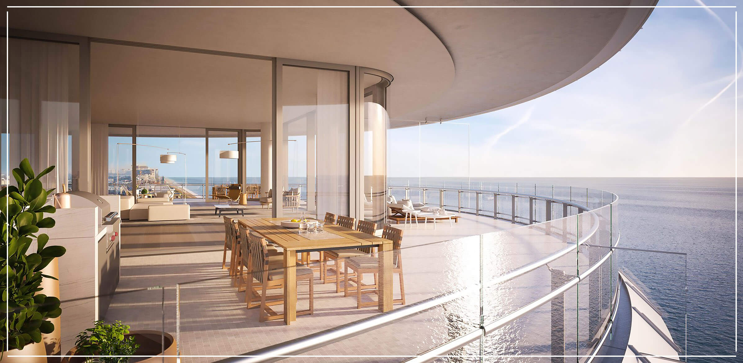 Eighty Seven Park Penthouses for Sale in Miami Beach