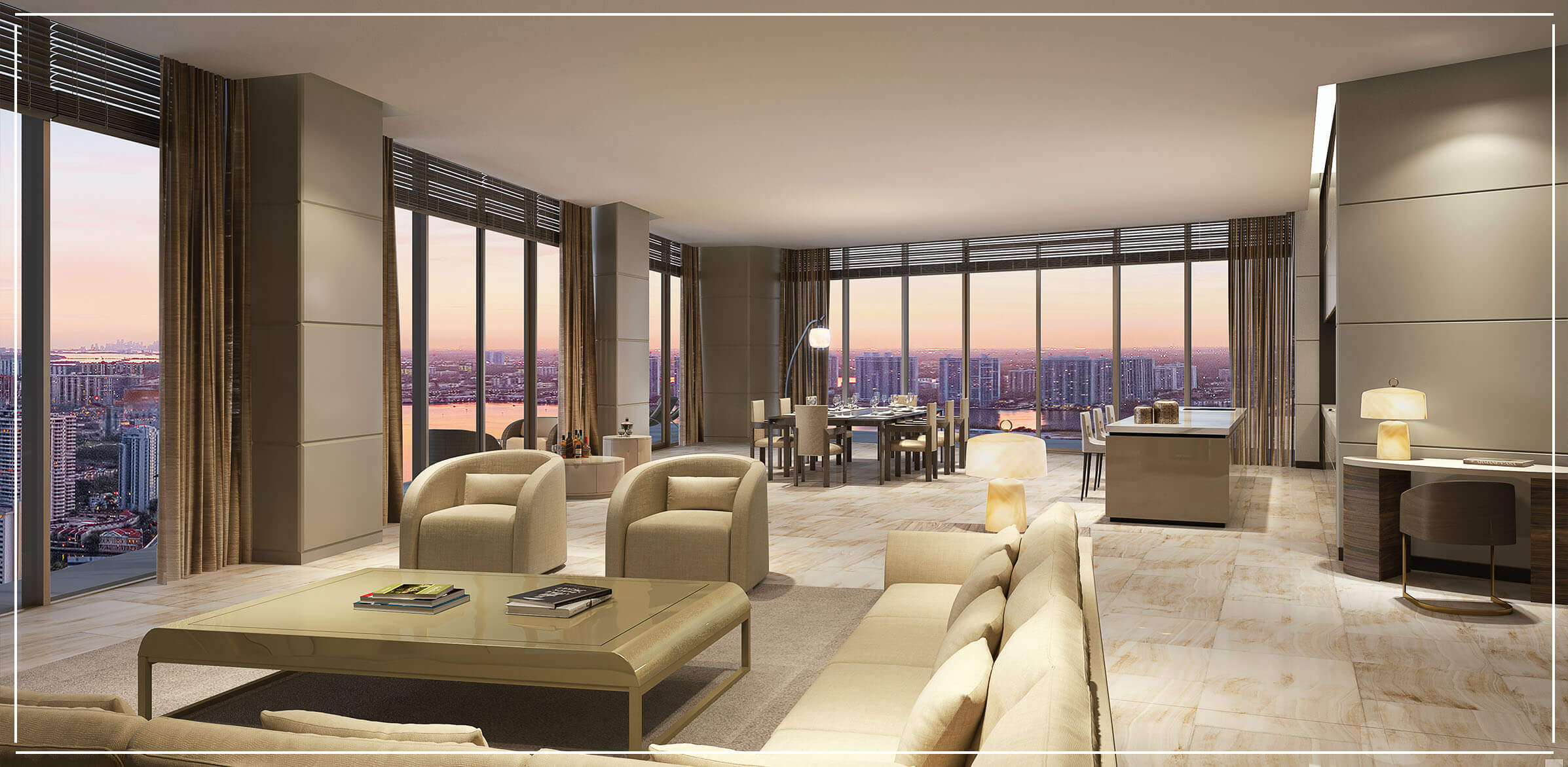 Residences Armani Casa Penthouses for Sale in Sunny Isles Beach