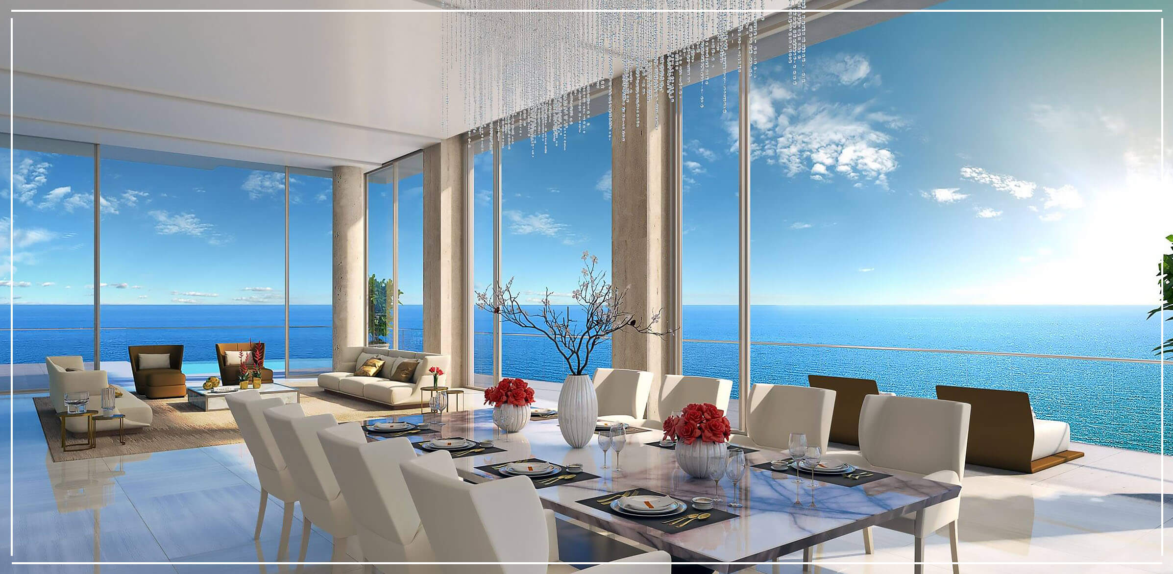 The Estates at Acqualina Penthouse for Sale in Sunny Isles Beach
