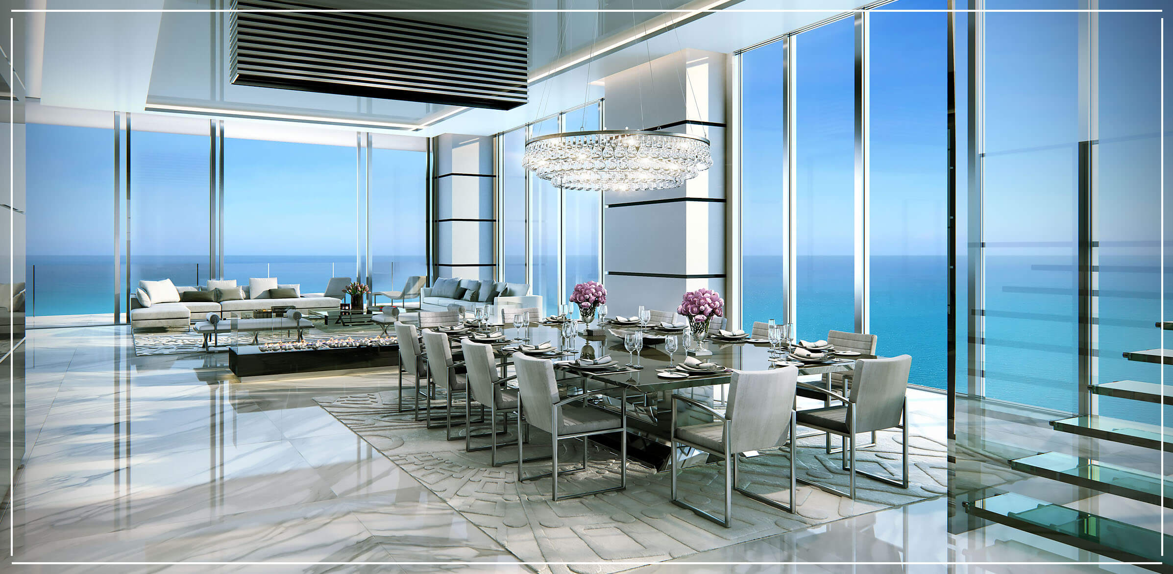 Turnberry Ocean Club Penthouses for Sale in Sunny Isles Beach